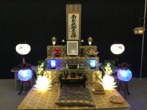 盆棚と盆飾り