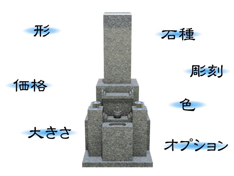 墓石の選び方